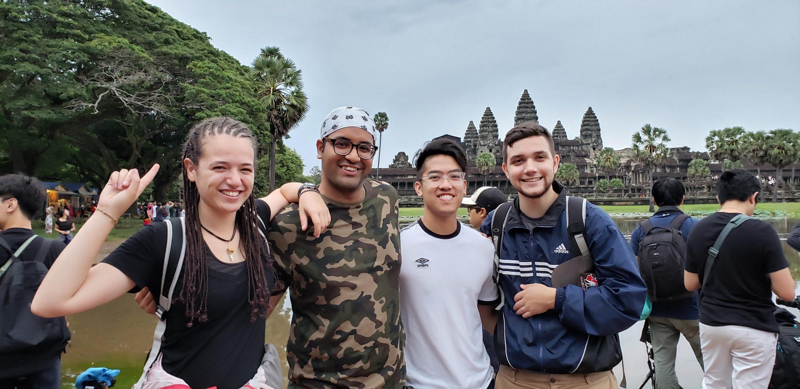 Students in Cambodia